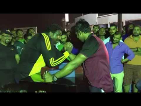 Qatar Arm wrestling Match 2016
