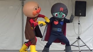 アンパンマンショー 【対決ブラックロールパンナとばいきんまん】 高画質 ななつばのクローバー anpanman Kidsshow