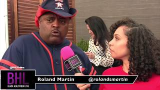 ROLAND MARTIN SPEAKS ON KANYE WEST | 11th Annual George Lopez Celebrity Golf Classic 2018