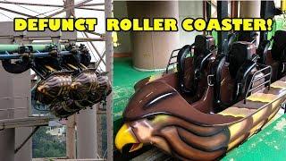 Defunct Roller Coaster! Hayabusa Onride POV! Arrow Suspended Tokyo Summerland Japan