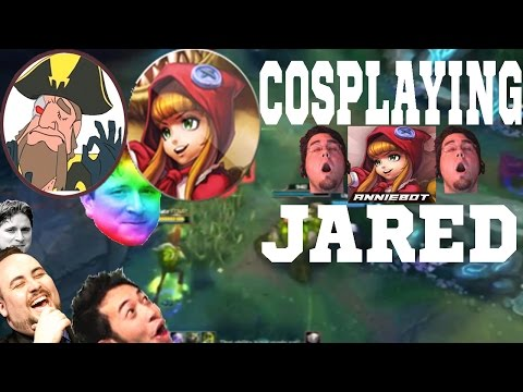 Tobias Fate - COSPLAYING JARED (AnnieBot) AND PLAYING ANNIE!  | League of Legends
