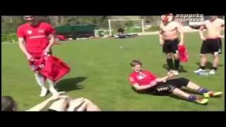 Trening piłkarski - tak ćwiczą prawdziwi twardziele