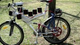 Самодельный электровелосипед(Представлен самодельный электровелосипед на базе обычного велосипеда. Для электропривода использован..., 2009-05-05T10:05:54.000Z)
