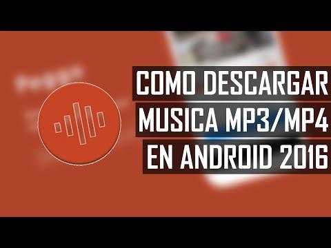 ¿CÓMO DESCARGAR MÚSICA MP3 o MP4 EN ANDROID? | LA MEJOR APK ! - PEGGO | 2016