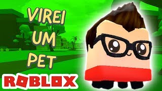 I TURNED A PET INTO ROBLOX!!!