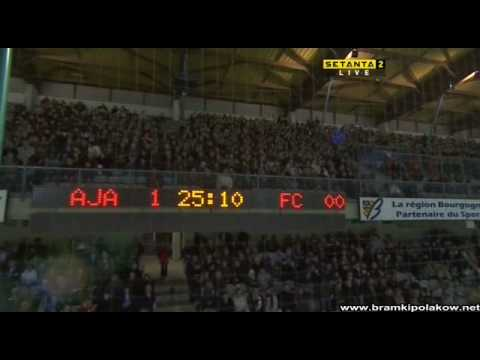 Gol Jelenia na 1-0 Auxerre - Toulouse