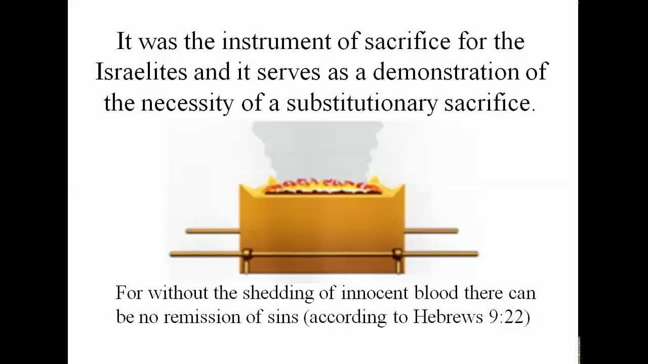 About the Brazen Altar of Sacrifice - YouTube for Brazen Altar And Laver  67qdu
