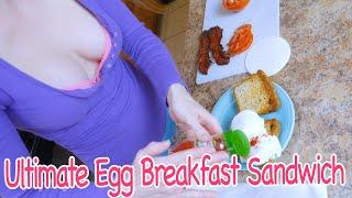 My Ultimate Egg Breakfast Sandwich Recipe Gluten Free | How To Make