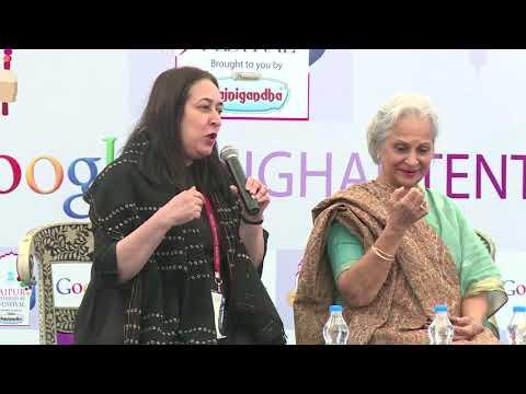#JLF 2015: Mujhe Jeene Do- Conversations with Waheeda Rehman