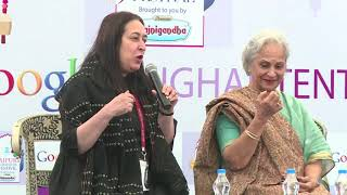 #JLF 2015: Mujhe Jeene Do: Conversations with Waheeda Rehman