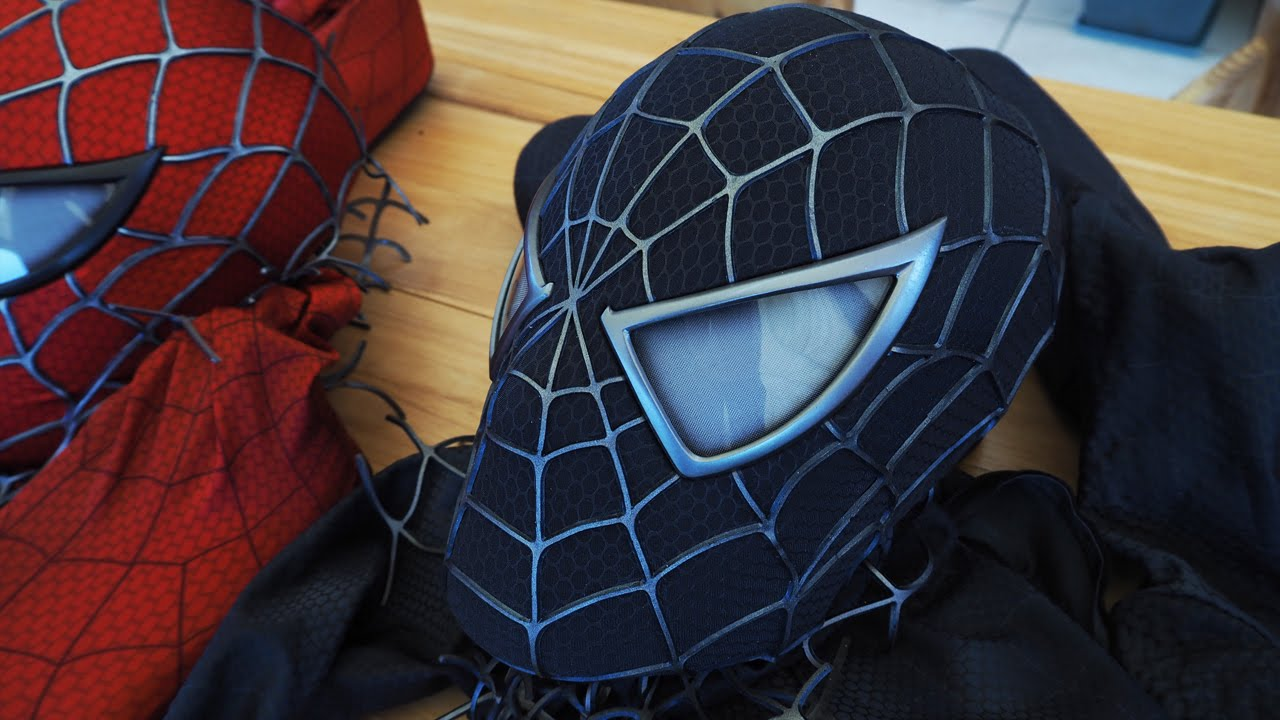 Introducing the Black Suit Symbiote Mask! - Spider-Man 3 ...