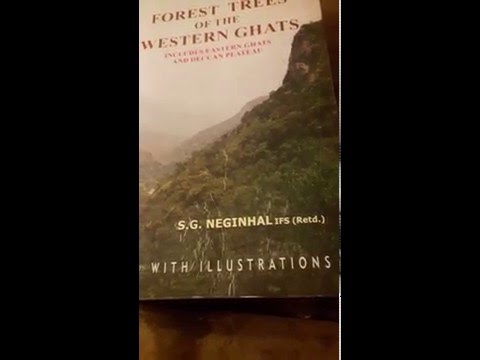 Forest trees of the western ghats by S.G.Neginhal