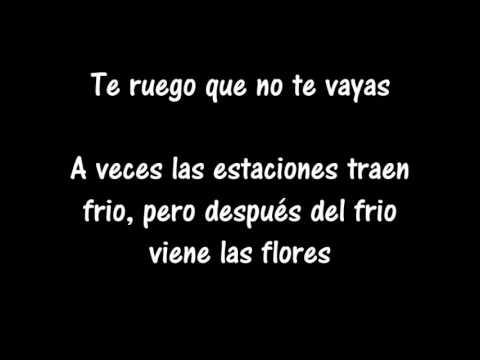 No me dejes así Letra - Felipe Santos y Cali & El Dandee