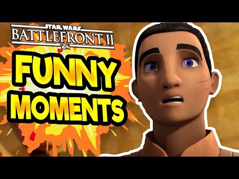 Star Wars Battlefront 2 Funny & Random Moments [FUNTAGE] #  - Star Wars Rebels Special! thumbnail