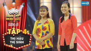 Thách thức danh hài 5|Tập 4:  Trấn Thành cúi đầu xin lỗi khi cười giúp cặp thí sinh ẳm trọn 20 triệu
