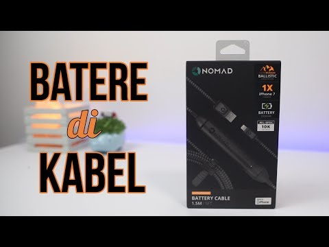 KABEL+BATERE?!! Nomad Battery Cable Review Indonesia
