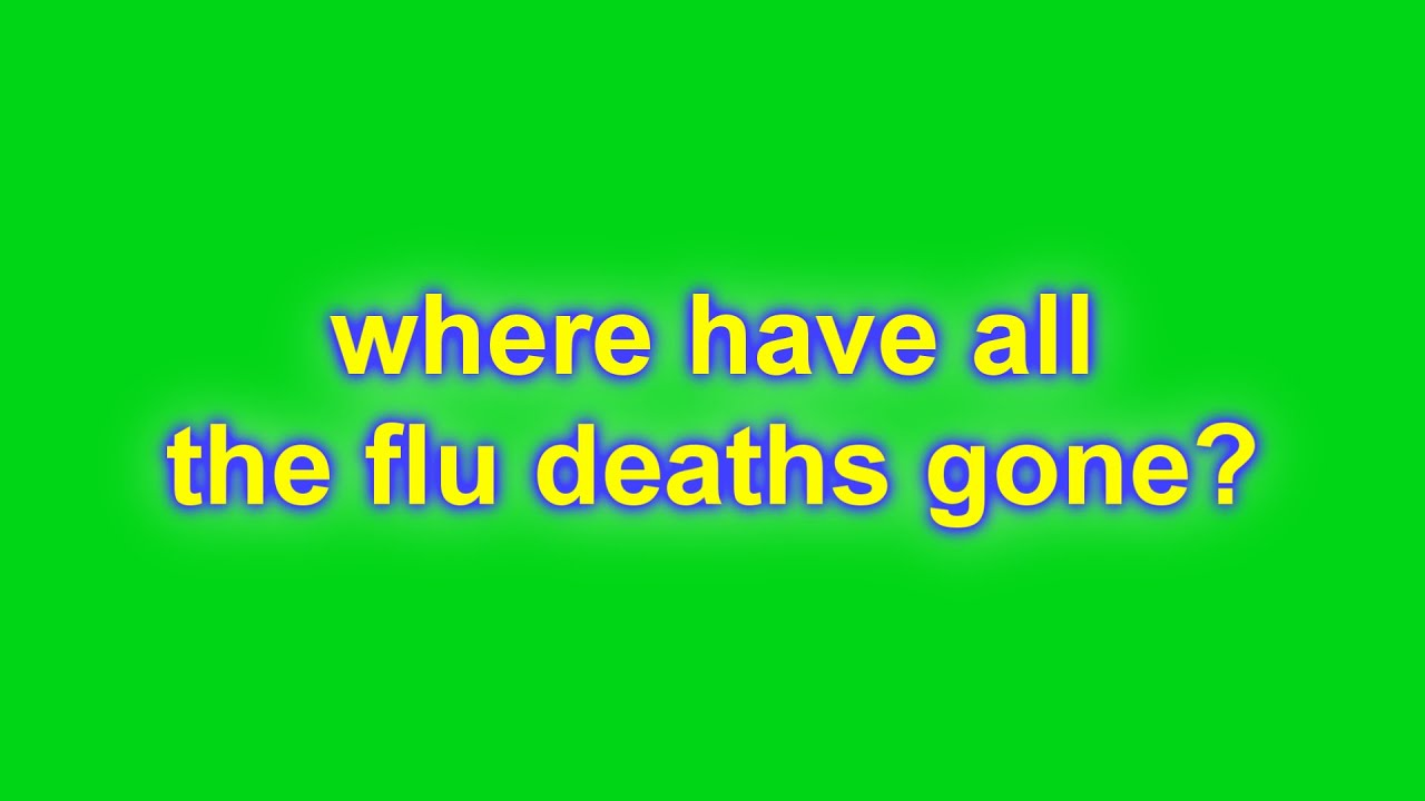Where have all the flu deaths gone?