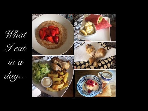 Slimming World | What I Eat In A Day | Day One