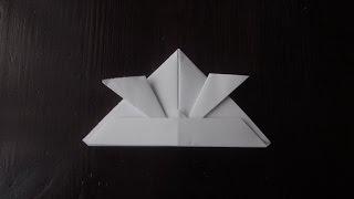Как сделать Шлем Самурая из бумаги / How to make a samurai helmet made of paper