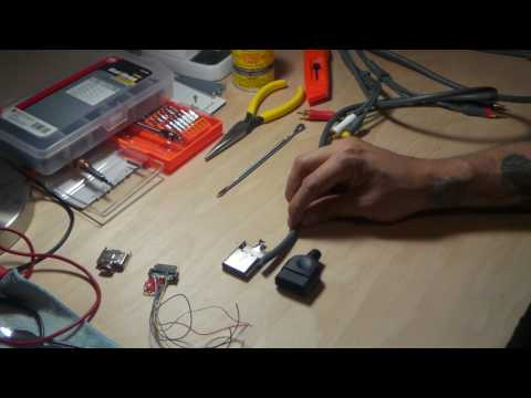 XBOX MODDING - Making High Quality Component Cord Splice Method Pt.1
