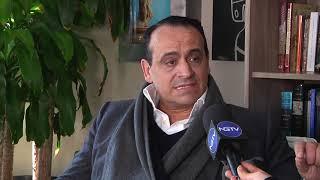 Ο Βασίλης Ζούλιας στην Νέα Υόρκη και στο New Greek Tv