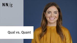 Comparing Qualitative and Quantitative UX Research