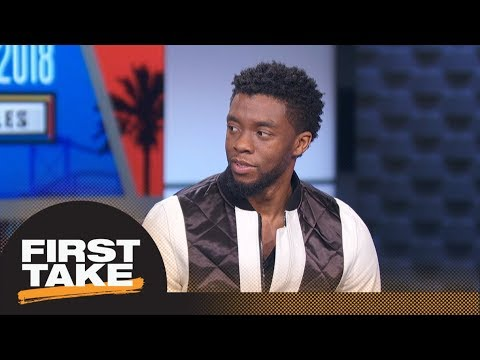 First Take interviews Black Panther star Chadwick Boseman   First Take   ESPN