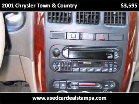 2001 Chrysler Town & Country Used Cars Tampa FL