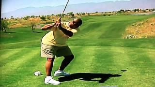 Charles Barkley Golf Swing