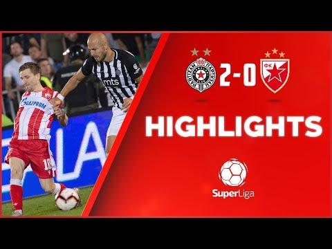 Partizan - Crvena Zvezda 2:0, 161. Derbi, Highlights