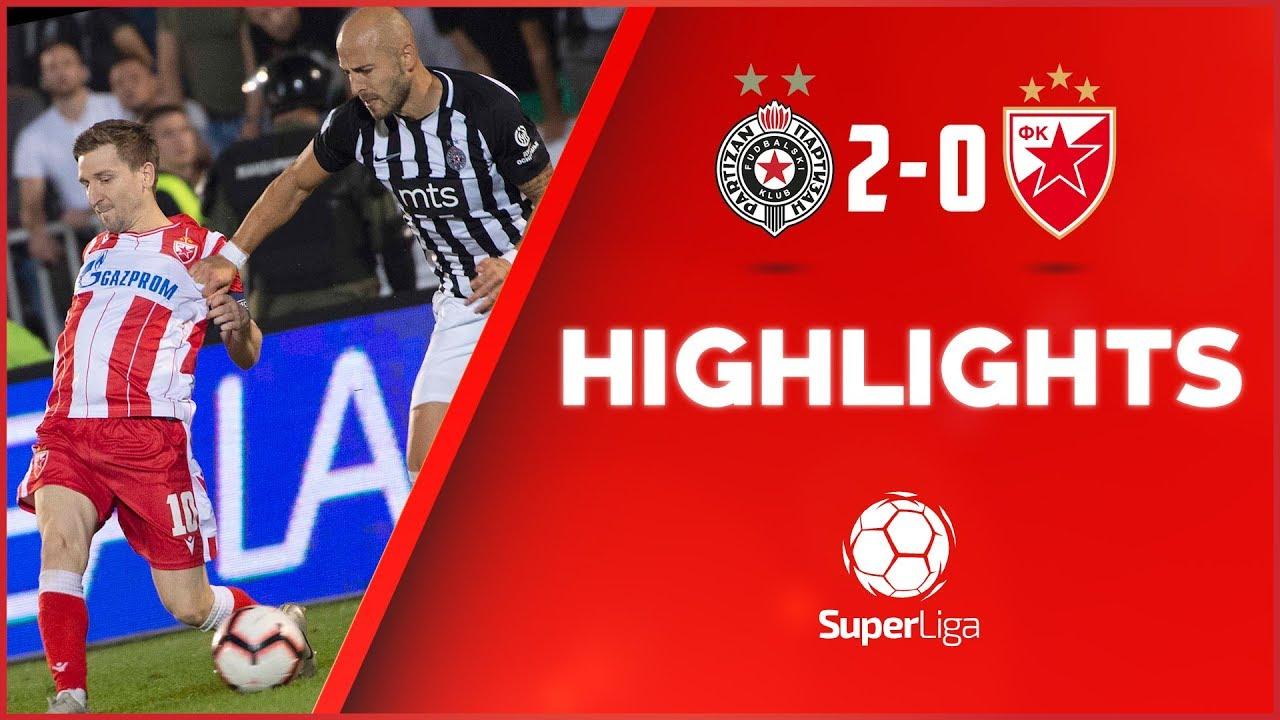 Partizan Crvena Zvezda 20 161 Derbi Highlights