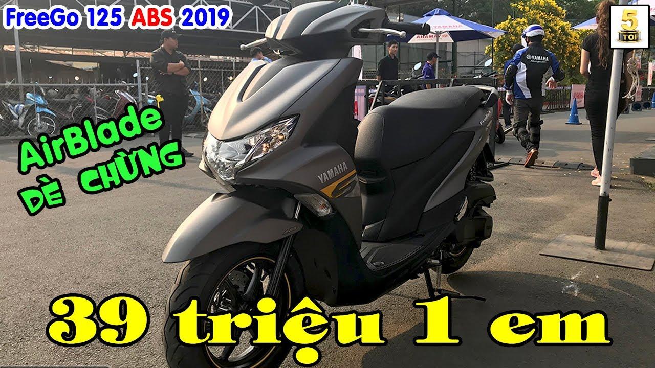Yamaha FreeGo 125 ABS 2019 ra mắt ▶️ Đối thủ nặng ký của Honda AirBlade 2019 🔴 TOP 5 ĐAM MÊ