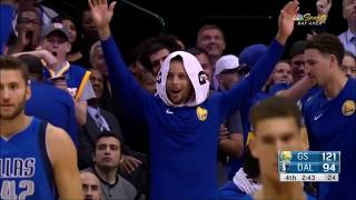 Jordan Bell SHOCKS Durant and Curry!