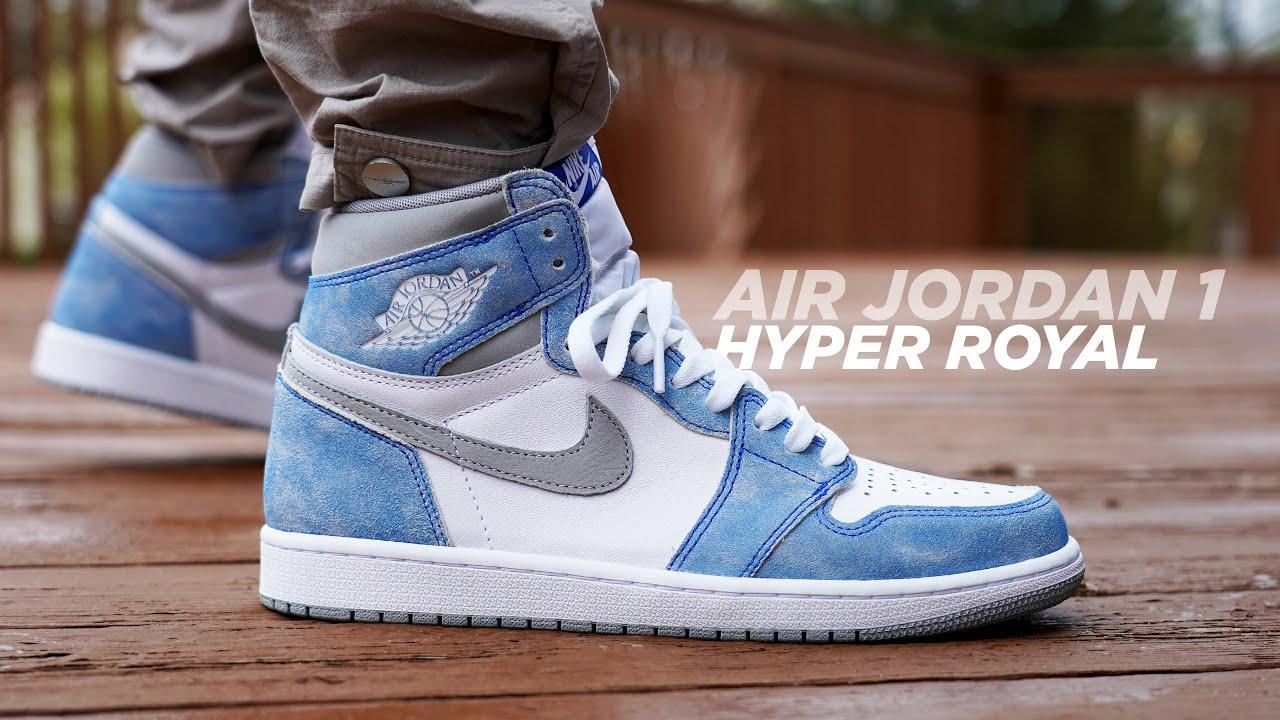 Air Jordan 1 HYPER ROYAL Review & On Foot