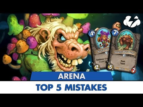 Top 5 mistakes made while playing Arena - Articles - Tempo Storm