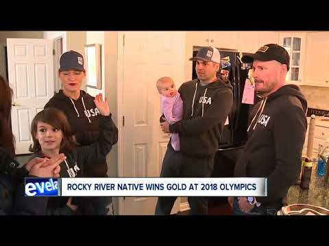 Red Gerard's dad spotted wearing a Browns hat as his son wins Olympic gold