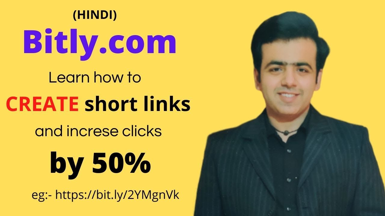 How to make short links | what is bitly | track your links | hindi