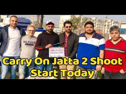 Carry On Jatta 2 : Shoot Starts Today | Gippy Grewal | Dainik Savera