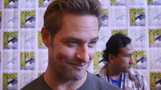 josh holloway teases colony season 3 talks spending his birthday at sdcc