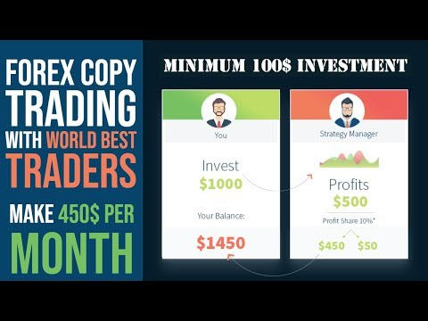 Copy Trading With best Traders   Make 450$ Per Month   FXTM  Investment