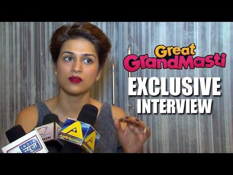 Shraddha Das EXCLUSIVE Interview   Great Grand Masti