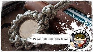 EDC Paracord Coin Wrap / Brocade Knot Tutorial