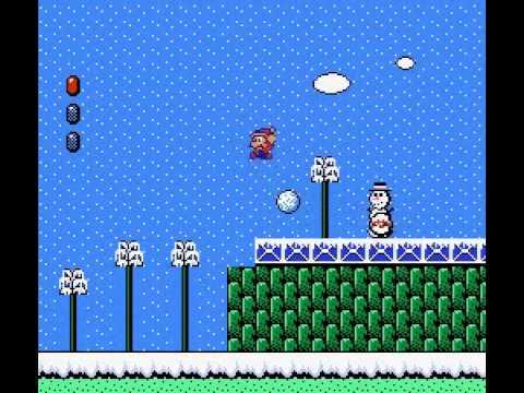 Super Mario World Christmas.Super Mario Bros 2 Christmas Edition Nes Vizzed Com Gameplay Rom Hack World 1