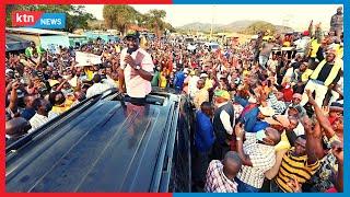DP Ruto takes his campaigns to the political backyard of Kalonzo Musyoka in Makueni County