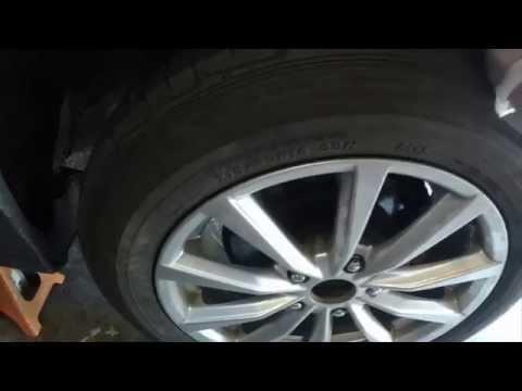08-12 Honda accord e brake adjustment
