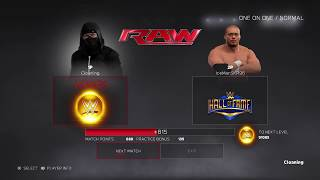 WWE 2K17 1v1 (Just Beat a Spammer)