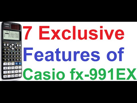 7 Exclusive Cool Features of Casio fx-991EX Classwiz Scientific Calculator