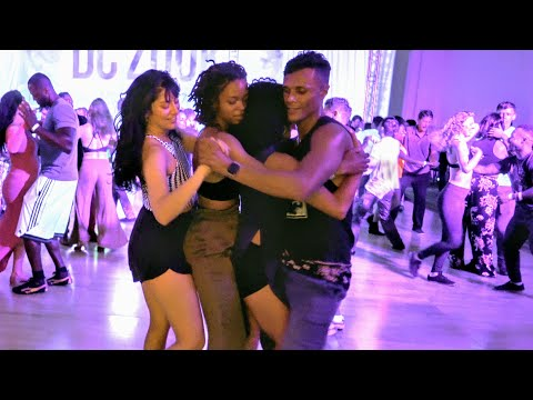 Lambada Dance | Leo Bruno Dancing With Three Followers | DC Zouk Festival 2019 | LambaZouk Dance