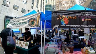 Gambar cover ⁴ᴷ⁶⁰ Walking NYC (Narrated) : Queens Night Market at Rockefeller Center (July 29, 2019)