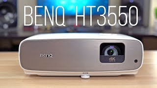 BenQ HT3550 Review - 4K HDR Home Theater Projector (2019)